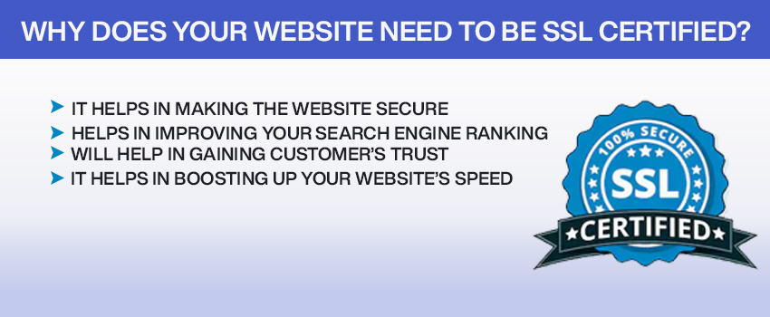 Why Does Your Website Need to be SSL Certified?