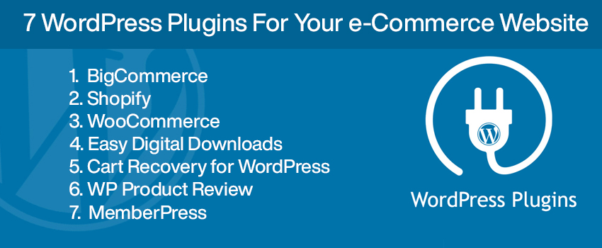 7 WordPress Plugins for Your e-Commerce Website